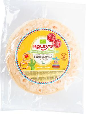 Roley's Glutenvrije multigrain wraps 195g