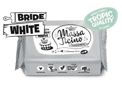 CARMA MASSA TICINO Bride White fondant 250g