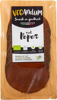 Vegandum Peper Vegan Broodbeleg 90g *THT 25.12.2018*