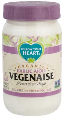 Follow Your Heart Garlic Aïoli Vegenaise® 340g *THT 17.04.2019*