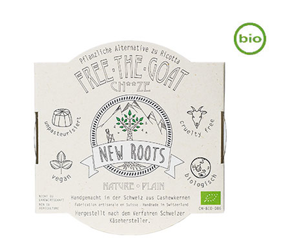 NEW ROOTS FREE THE COW HERBAL ALTERNATIVE TO RICOTTA NATURAL ORGANIC 120G *BBD 26.08.20188*