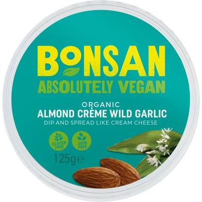 Bonsan Almond Spread Wild Garlic 125g