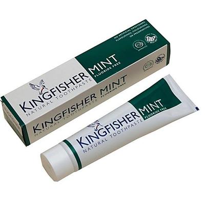 Kingfisher Mint Fluoride Free tandpasta 100ml