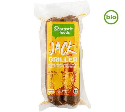 Vantastic Foods Jack the Griller vegane Jackfruit Bratwurst BIO 150g