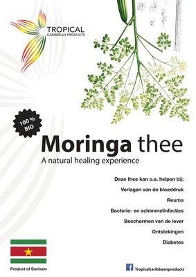 Tropical Carribean Products Moringa thee 20g