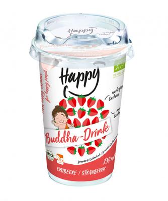 Happy Cheeze - Buddha-Drink, Erdbeere (BIO), 230ml  *THT 19.12.2018*
