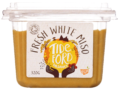 Tideford Organic Foods Fresh White Miso 320g