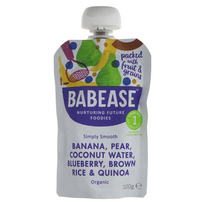 Babease Banana & Pear Coconut Water 100g
