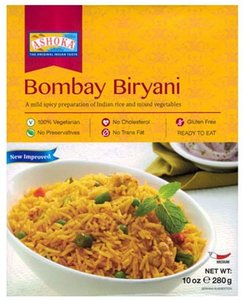 Ashoka Bombay Biryani heat and eat