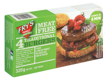 Fry's Traditional Burgers 320g