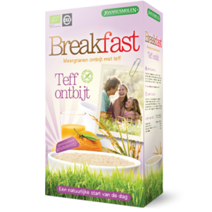 Joannusmolen Breakfast teff ontbijt 300g