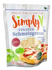 Simply V Veganer Schmelzgenuss (shreds) naturel 225g *THT 02.12.2018*