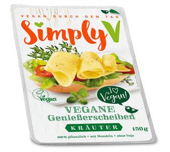 Simply V Vegane GenieBerscheiben Krauter 150g