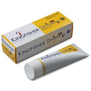 Kingfisher Kindertandpasta Aardbei- zonder fluoride 75ml