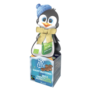 So Free Penguin Box & Giant Buttons 65g