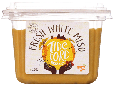Tideford Organic Foods Fresh White Miso 320g