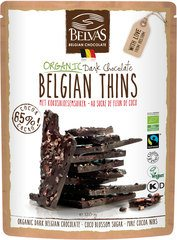 Belvas Belgian thins pure with coconut blossom sugar 120g